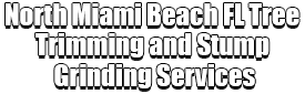 North Miami Beach FL Tree Trimming and Stump Grinding Services Logo-We Offer Tree Trimming Services, Tree Removal, Tree Pruning, Tree Cutting, Residential and Commercial Tree Trimming Services, Storm Damage, Emergency Tree Removal, Land Clearing, Tree Companies, Tree Care Service, Stump Grinding, and we're the Best Tree Trimming Company Near You Guaranteed!
